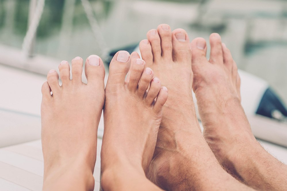 Easy Ways to Stop Sweaty Feet in Their Tracks | Footfiles