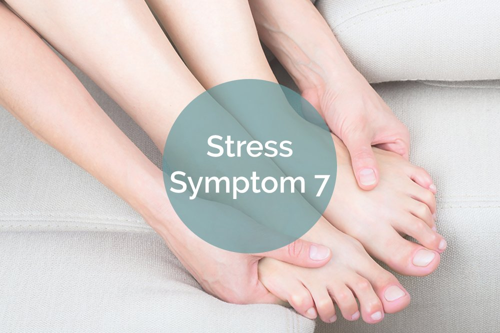 7 stress symptoms that appear on your feet footfiles for Tingling in hands and feet anxiety