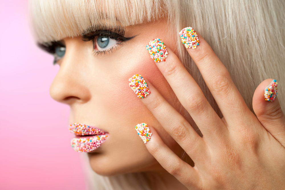How To Create Sprinkle Nails Any Cupcake Would Envy Footfiles