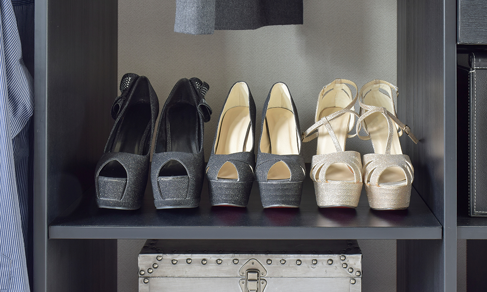 Easy ways to keep a shoe cabinet fresh footfiles - Types of shoe storage solutions for the bedroom ...