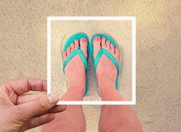 Nakefit Stick On Soles Replace Flip Flops As Summer Shoe