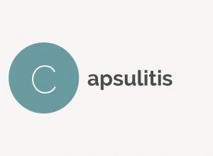 Capsulitis Definition