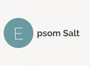 Epsom Salt Definiton