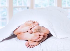 Foot Cuddling