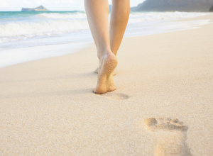 7 Surprising Health Benefits Of Earthing Walking Barefoot