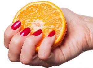Cure Weak Brittle Nails With Quick Orange Garlic Olive Oil Soak