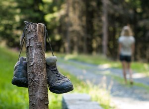 ditching hiking boots for barefoot walking
