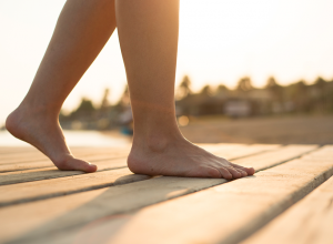 Back Pain Relief Walking Barefoot May Reduce Suffering