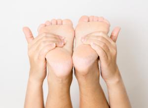 flexing ankles achilles tendonosis