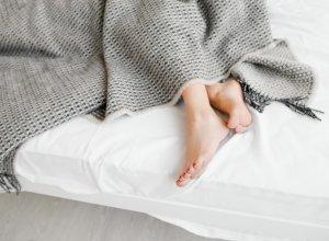 Foot Wrap Replaces Medicine Restless Leg Syndrome (RLS) Treatment