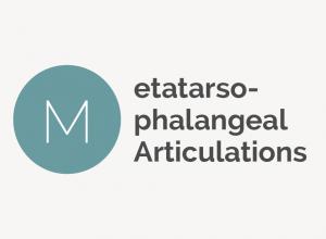 Metatarsophalangeal Articulations