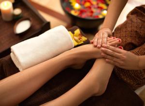 Padabhyanga Foot Massage