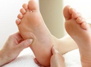 Acupressure on the Foot