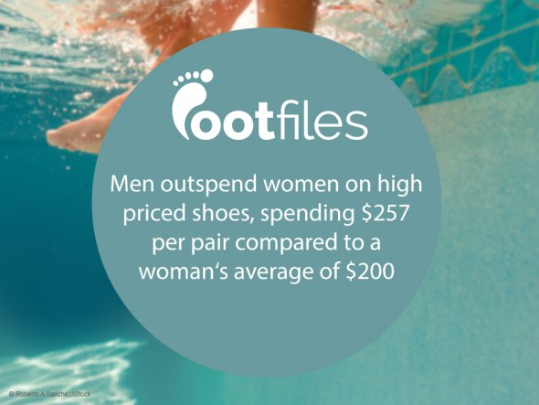 Footfiles Foot Fact Men Spend More On Shoes Than Women