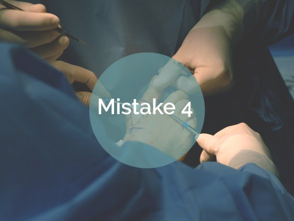 8 Mistakes Patients Make When Considering Bunion Surgery