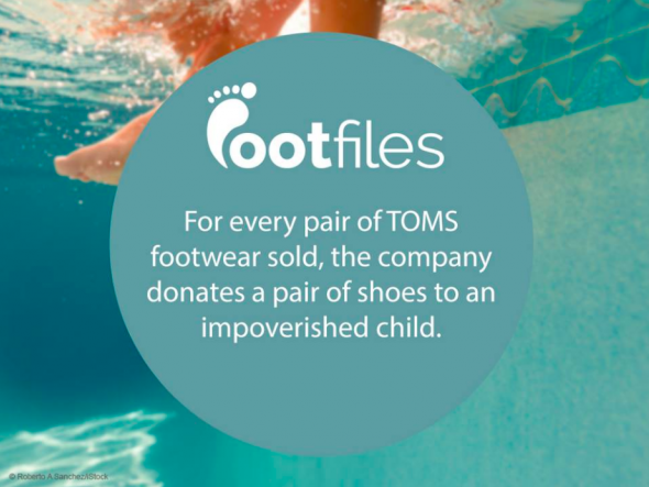 Footfiles Foot Fact TOMS shoes help impoverished children