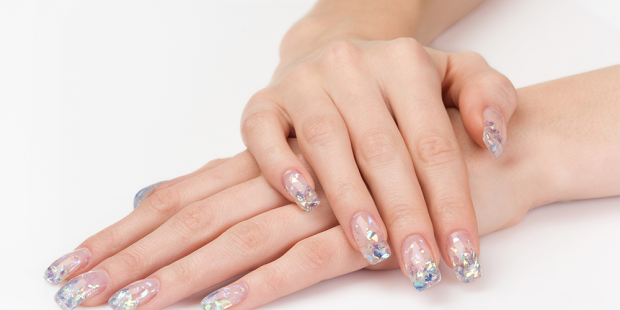 K-Beauty Diamond Nails Dropping Jaws