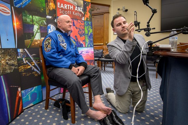 NASA Astronaut Scott Kelly Still Has Sore Feet 3 Months After His Year In Space