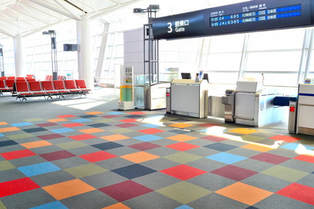 Airport Carpets Inspire New Line Of Socks