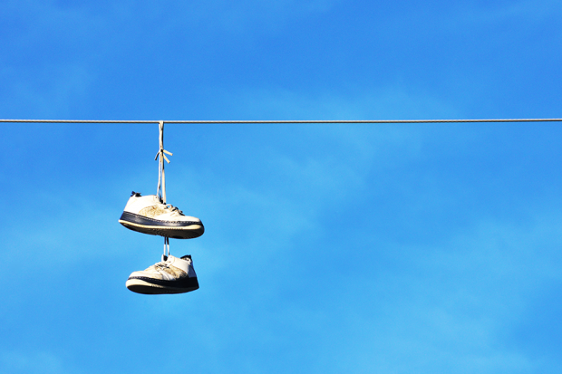 Ever Seen Shoes On Power Lines? Here\u0027s Why.