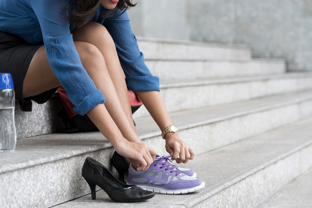 Sore Feet At Work Would You Take A Pay Cut To Wear Sneakers