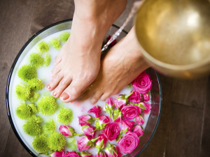 Healing Powers of Foot Soaks