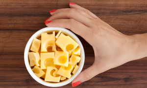 Swiss Cheese Inspired Nail Art Tutorial Manicure Meets Fromage