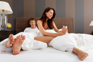 Your Love Life Revealed Via Your Feet